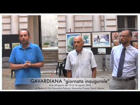 Inaugurazione Gavardiana 2015 : Pesaro 11 agosto 2015