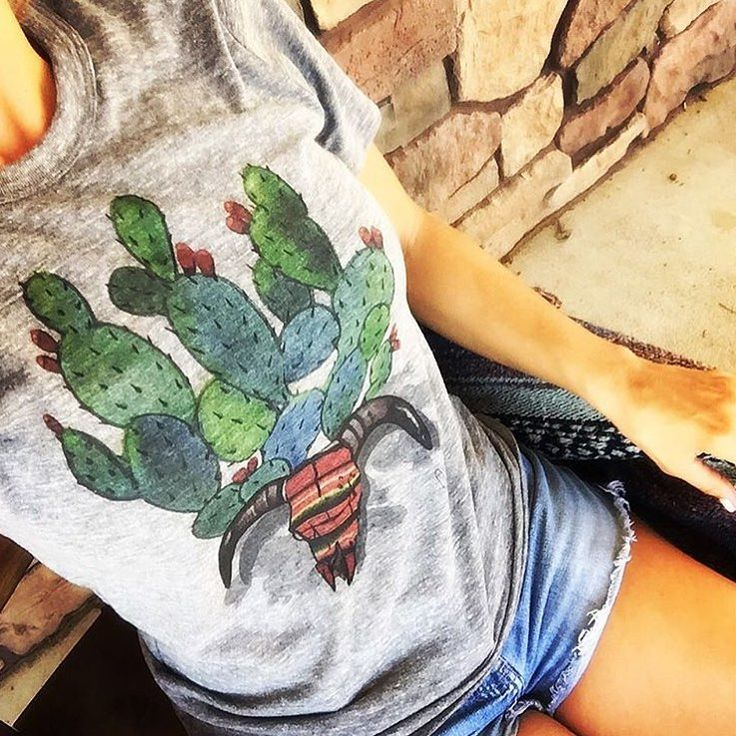 Cutest cacti tee you ever did see!