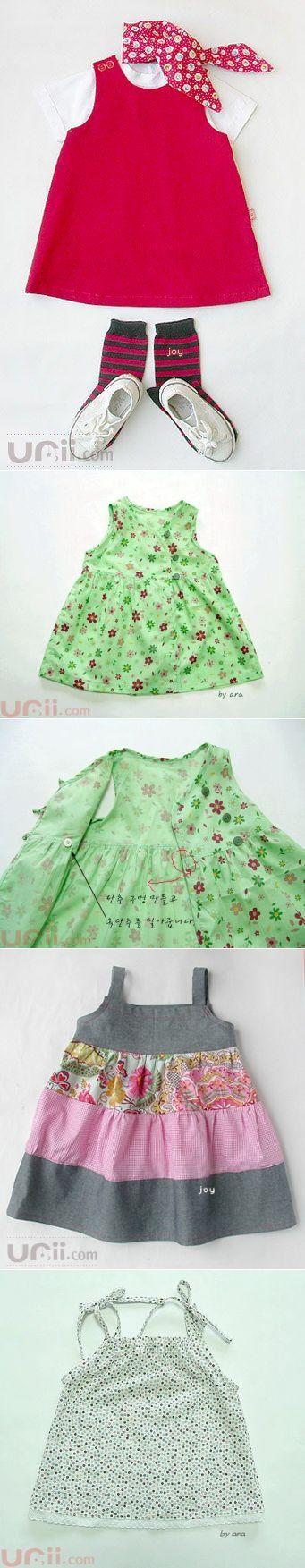 Платье для маленькой девочки...