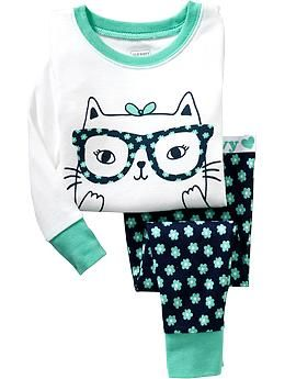 Old Navy -- Cat  PJ  Sets for Baby