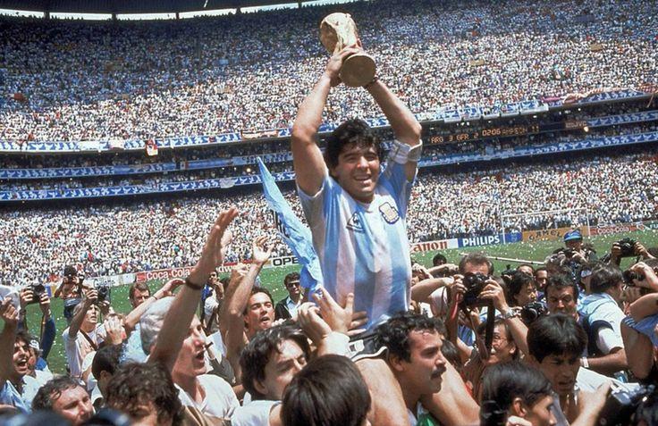 Maradona,mundial 1986,Mexico.