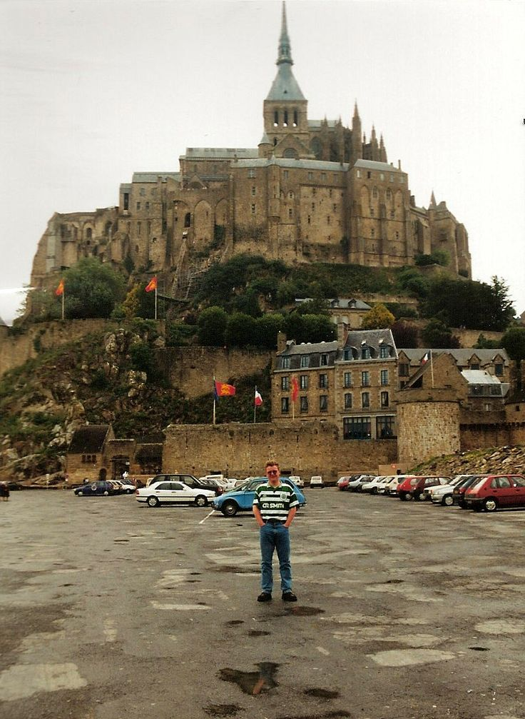 The Planner enhances the tourists' view of Mont St. Michel in Normandy.