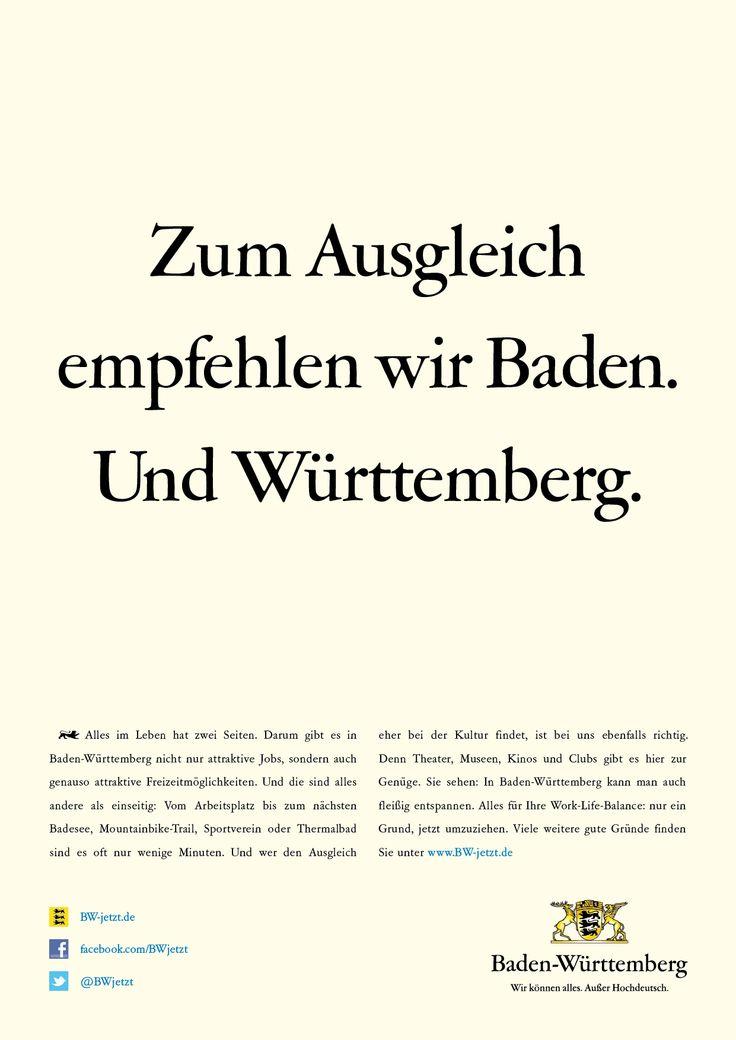 Alles im Leben hat zwei Seiten. Darum gibt es in Baden-Württemberg nicht nur attraktive Jobs, sondern auch genauso attraktive Freizeitmöglichkeiten.