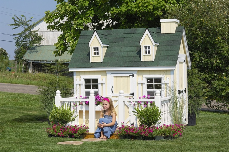 Now here's a playhouse for a little girl!