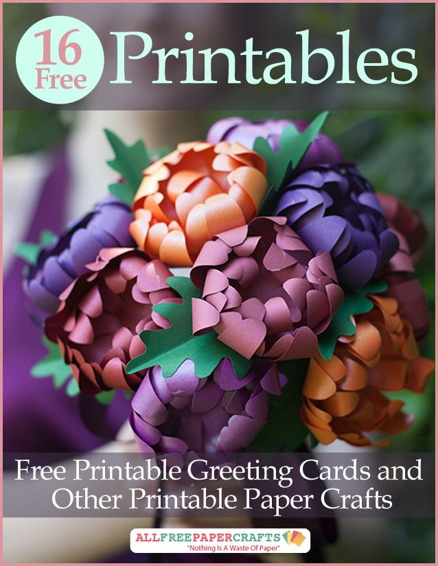 Allfreepapercrafts Com: 17 Best Ideas About Printable Paper On Pinterest