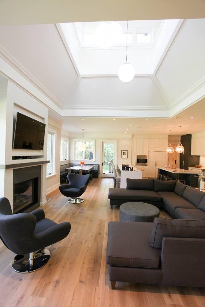 luxury living room custom-built by Carlos Jardino and the PCM Inc Team