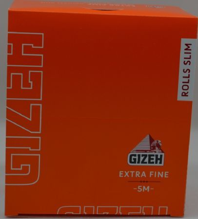 CARTINA GIZEH ROLLS SLIM 5MM EXTRA FINE CF.20
