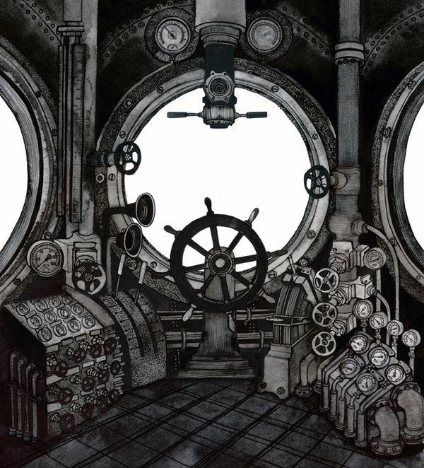 The Submarine. on Illustration Served