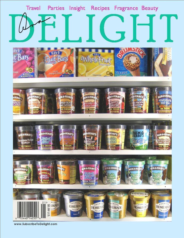 Magazine Bag Duct Tape ANA DELIGHT Frozen Treats
