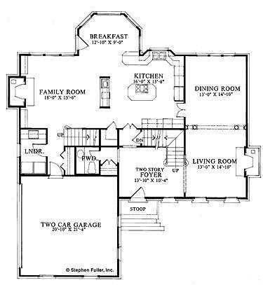 Living room = library/game room, geen kelder. Boven master bedroom met onsuite en 2 slaapkamers met gedeelde badkamer. Mss ng kleine 3e met onsuite