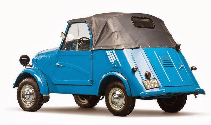 1964 SMZ S-3A microcar (Russia)