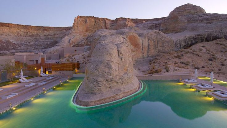 The Aman Spa, Amangiri, Utah