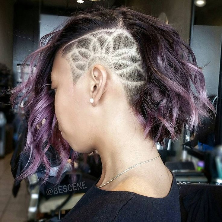 Sensational 17 Best Ideas About Side Shave Design On Pinterest Shaved Side Hairstyle Inspiration Daily Dogsangcom