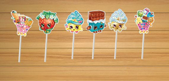 Hey, I found this really awesome Etsy listing at https://www.etsy.com/listing/232722249/shopkins-party-cupcake-toppers-set-of-12