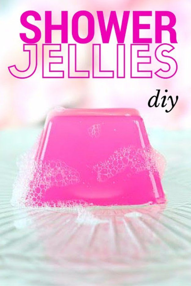 DIY Lush Inspired Recipes - DIY Shower & Bath Jellies (Lush Inspired) - How to Make Lush Products like Bath Bombs, Face Masks, Lip Scrub, Bubble Bars, Dry Shampoo and Hair Conditioner, Shower Jelly, Lotion, Soap, Toner and Moisturizer. Copycat and Dupes o