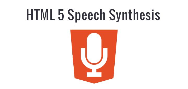 HTML5 Speech Synthesis Demo