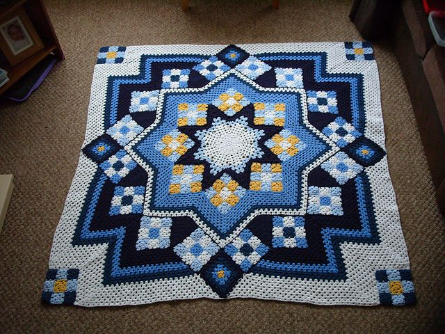 Crochet Afghan Patterns That Look Like Quilts : 1000+ images about geometric crochet afghans on Pinterest ...