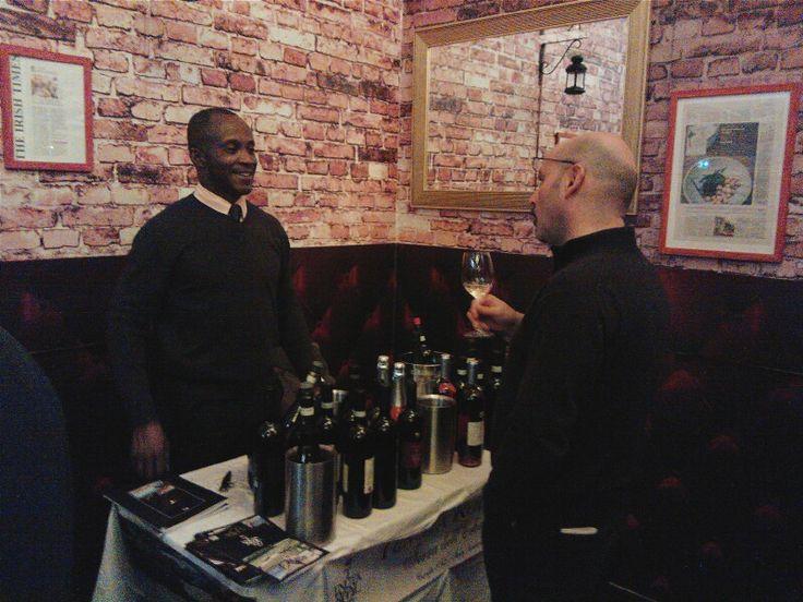 Tasting Italy in Dublin with italian fine wines !