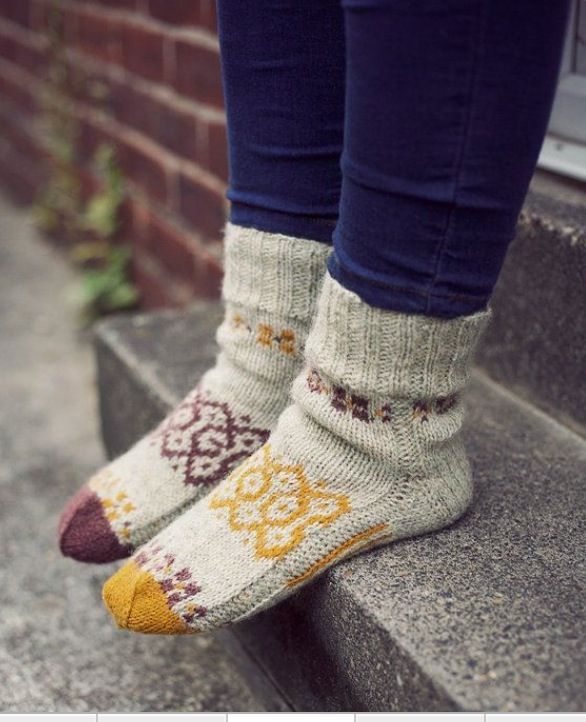Cute winter socks | Style | Wool socks, Socks, Knitting socks