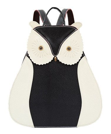 Look what I found on #zulily! Black & White Owl Backpack by Mellow World #zulilyfinds