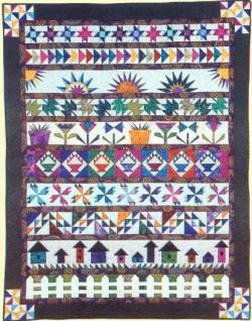 row by row quilt patterns free - Google Search
