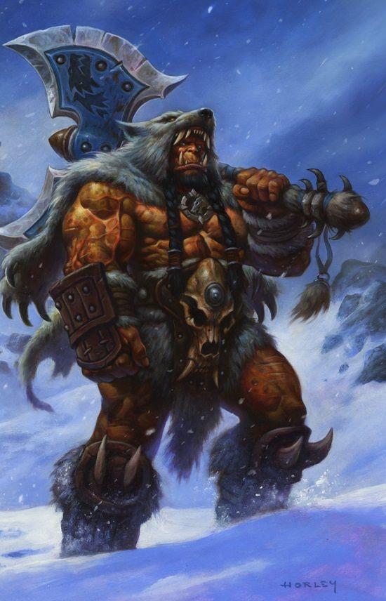 #WOW | Durotan (Frontline) : Frostwolf Clan