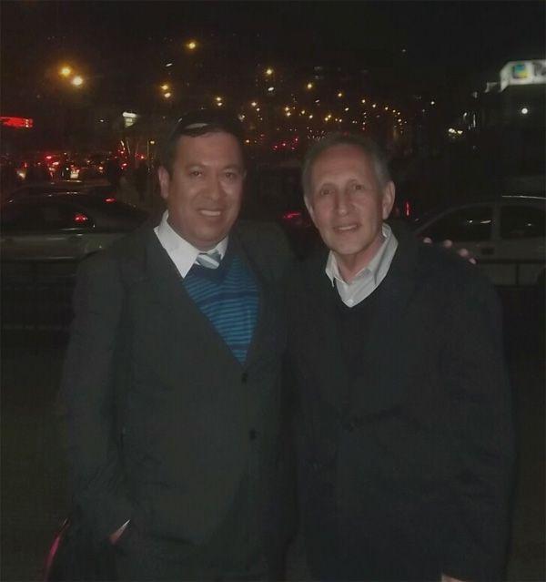 Con Boris Ugarte, Director Nacional de Marketing de la Universidad Univalle de Bolivia.