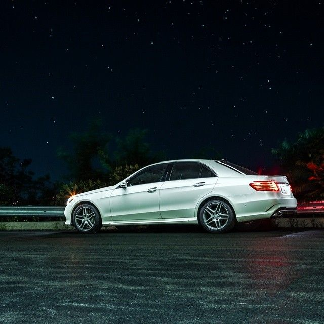 Just cruise slightly out of the city and its amazing what you can find. A sky full of stars.   #MBPhotoPass @mattmagnino    #mbphotocredit #mbsummer #summer  #mercedes #benz #instacar #luxury #germancars #carphotography #carsofinstagram #IL #Illinois #Chicago #mercedesbenz #e #eclass #e550 #sedan #designo