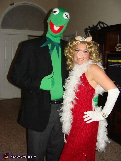 Coolest couples costumes: Kermit and Miss Piggy Couple Halloween Costume