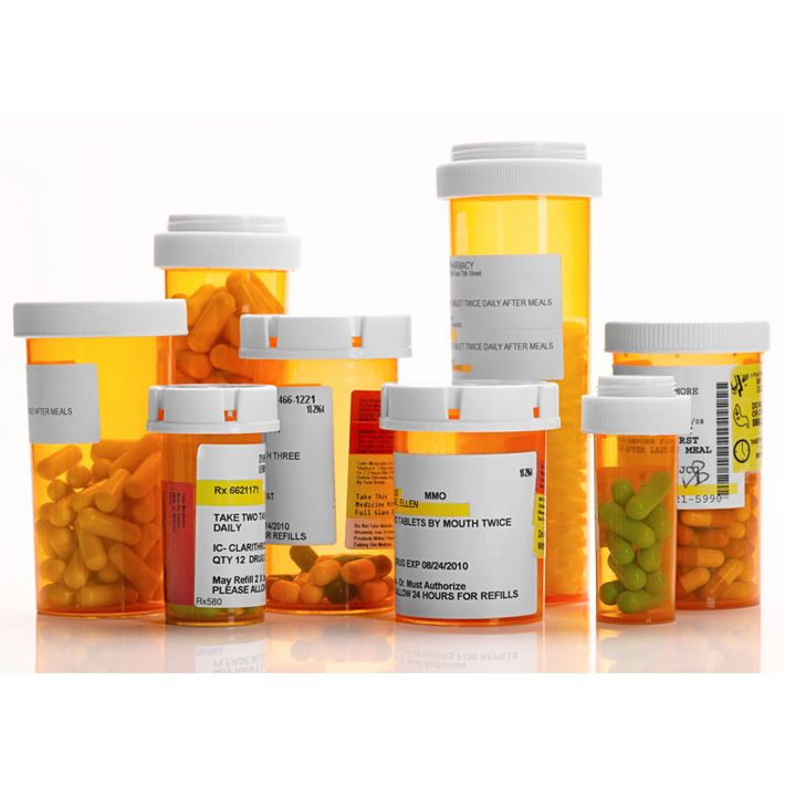China suppliers cheap custom pill bottle labels