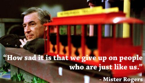 Wisdom from Mr. Rogers