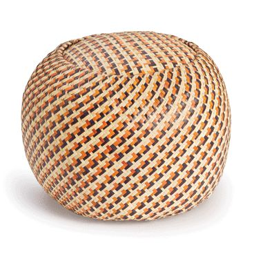 Madwa- Claudine Floor Cushion Burnt Orange