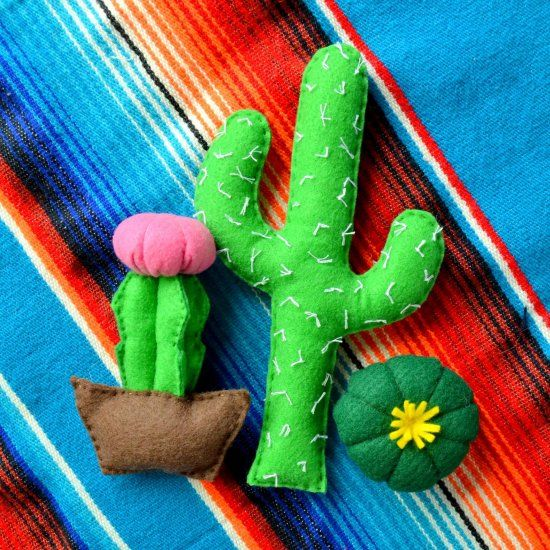 Cactus Catnip Toys | Craft Gawker | Bloglovin'