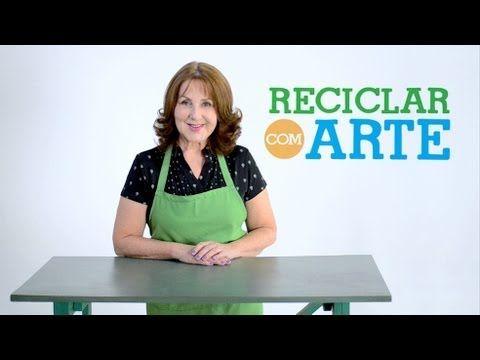 Bolsinha de caixa de leite - Reciclar com Arte - YouTube