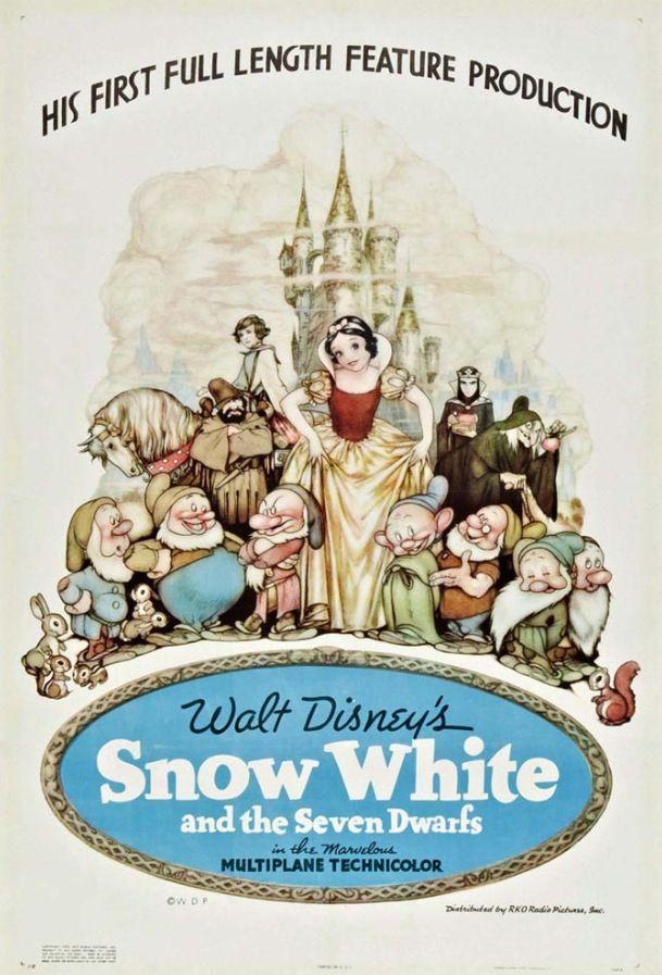 Old disney movie posters
