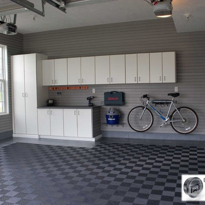38 best images about garage floor ideas on pinterest for Garage flooring ideas