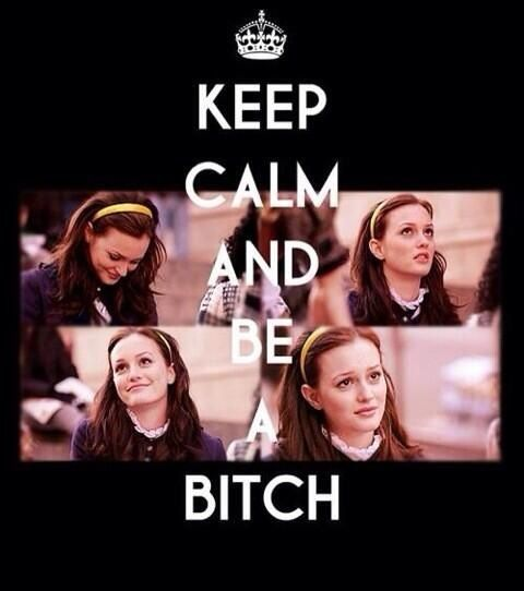 # keep calm bitches