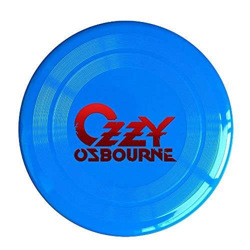 Discovery Wild Ozzy Osbourne Plastic Sportdisc Flying Disc - Frisbee Like Toy For Outdoor Game Play - Sports For All Ages - Party Fun - RoyalBlue ** Details can be found by clicking on the image.