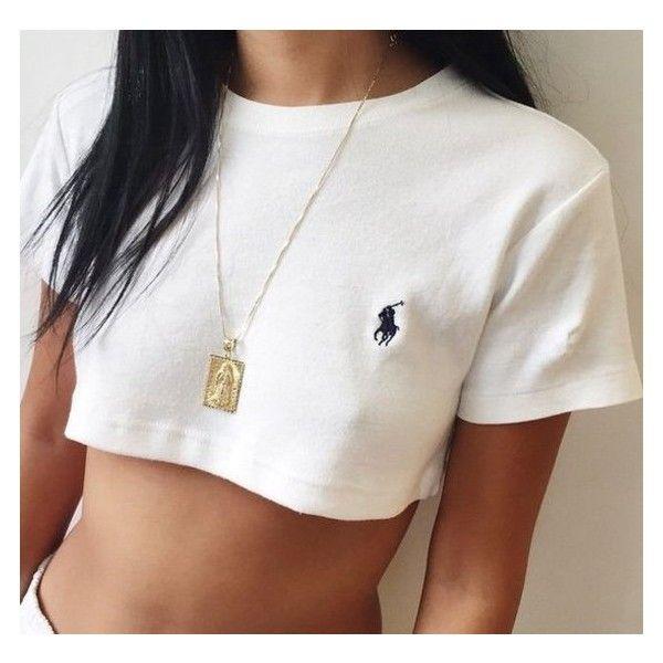Shirt: tank top ralph lauren crop tops white ralph lauren femme white... ❤ liked on Polyvore featuring tops, horse shirts, ralph lauren shirts, polo crop top, cropped tops and horse polo shirts