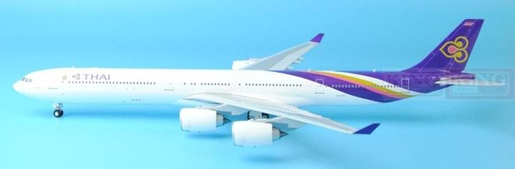 221.47$  Buy now - http://ali9ei.worldwells.pw/go.php?t=32596030315 - Eagle 100030 Thailand Airlines HS-THF 1:200 A340-600 commercial jetliners plane model hobby
