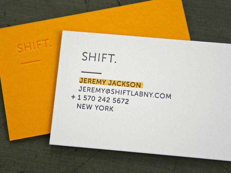SHIFT LAB Bus Cards « Beast Pieces - Letterpress