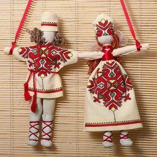 """Кукла-оберег """"Неразлучники""""е"""