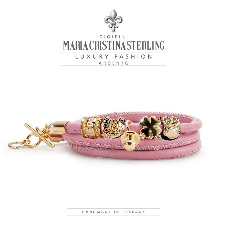 maria_cristina_sterling_gioielli moda argento bracciali  luckyou made in Tuscany http://shop.mariacristinasterling.it