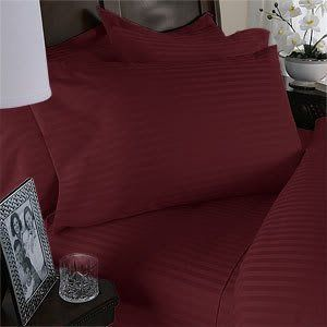 """8PC ITALIAN 1500TC Egyptian Cotton GOOSE DOWN COMFORTER Bed in a Bag - Sheet , Duvet - Full Burgundy St by Egyptian Cotton Factory Outlet Store. $299.99. Beautiful Duvet Set : 1 Duvet Cover (90"""" x 90"""") and 2 Shams (20"""" x 30""""). This 8pc luxury bedding set is designed & crafted in ITALY.. ITALIAN 1500TC long-staple Egyptian Cotton Sheet and Duvet Set. 1 Flat Sheet (86"""" x 96""""), 1 Fitted Sheet (54"""" x 75"""") and 2 Standard Pillow Cases (20"""" x 30""""). Luxury 1500TC 100% Go..."""