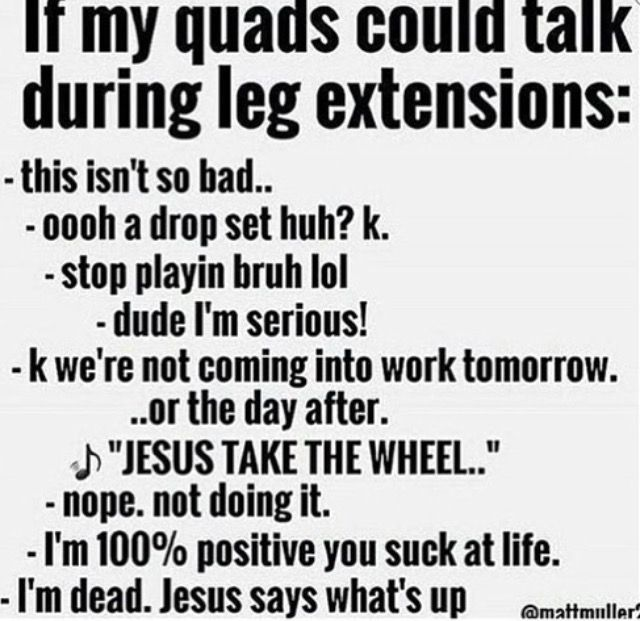 If my quads could talk.