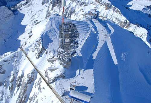 Ponte sospeso Titlis - In Svizzera ponti più alti dell' Europa - Cerca con Google
