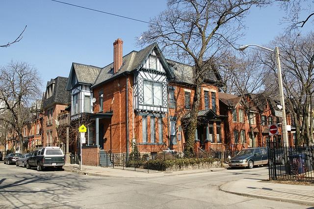 Ontario St. & Aberdeen Ave, Cabbagetown Toronto