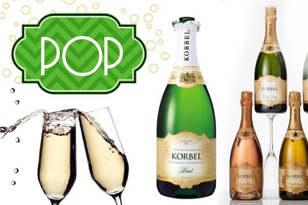 Champagne drink and dessert recipes