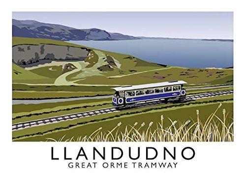 Llandudno, Great Orme Tramway Art Print (A3) Chequered Ch... https://www.amazon.co.uk/dp/B01NAYDHYN/ref=cm_sw_r_pi_dp_x_h0JJybSRGM3DF