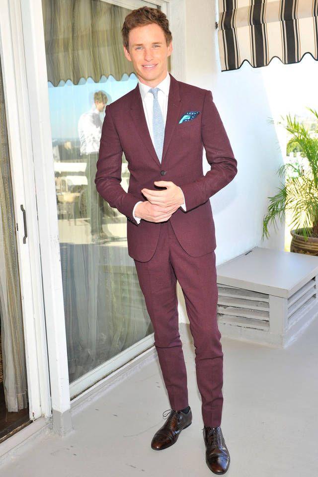 The 25 best dressed men of 2014: Eddie Redmayne